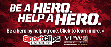 Sport Clips Haircuts of Atlanta - Howell Mill ​ Help a Hero Campaign